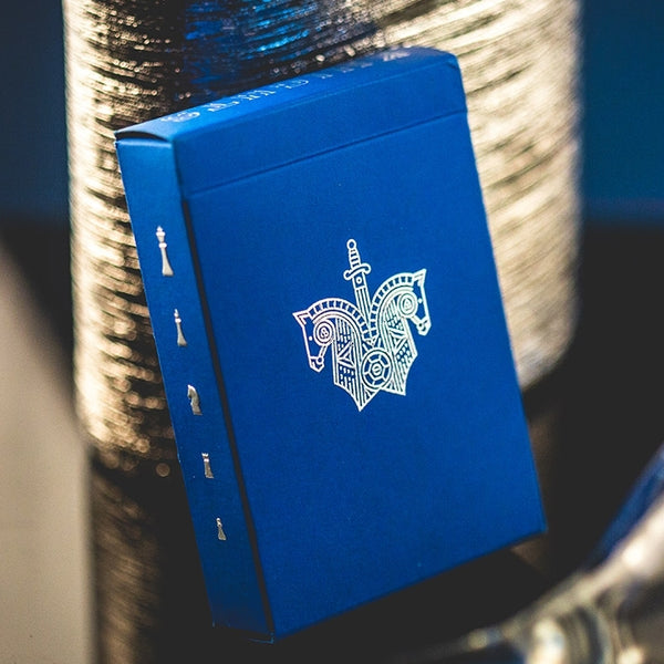 Blue Knights Playing Cards Madison Ramsay Ellusionist Magic Deck