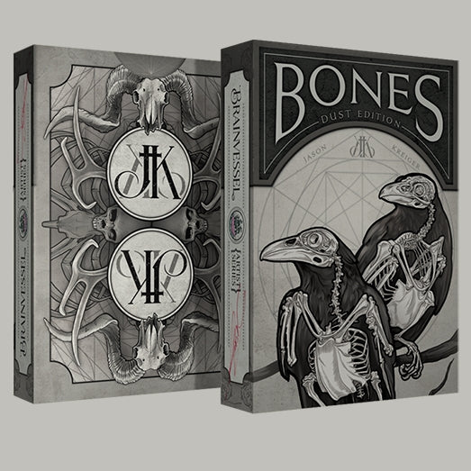 Bones Dust Impossible Bottle Playing Cards deck sealed in AIP Glass