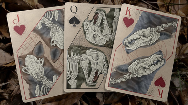 Bones Playing Cards Coloured Rebirth Edition by Brain Vessel