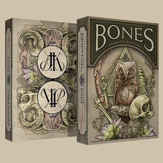 Bones Rebirth Impossible Bottle Playing Cards deck sealed in AIP Glass