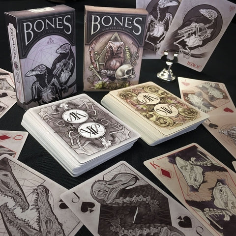 Bones Playing Cards Dust & Rebirth Editions by Brain Vessel 2-Decks