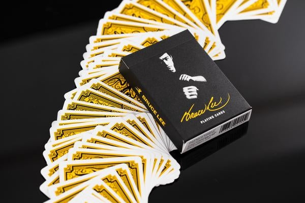 Bruce Lee Playing Cards Official Deck Martial Arts V2 by Art of Play