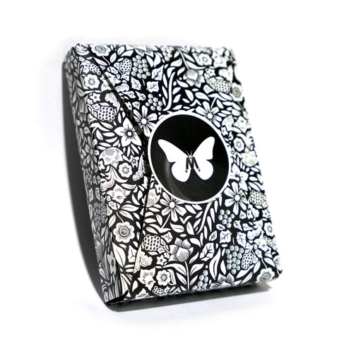 Butterfly Playing Cards Black & White Edition Marking System