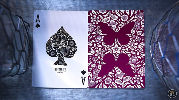 Butterfly Playing Cards Treasure Rare Learn Magic Book Gift +4 decks