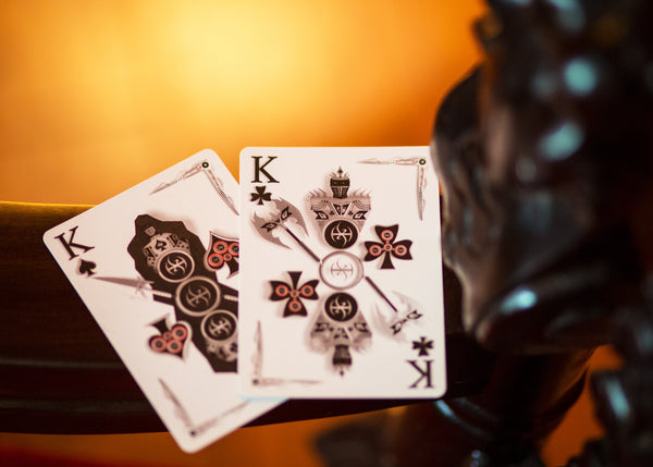 Buyworthy:CHROME KINGS Playing Cards Deck Designed in 3D Players Edition by De'vo vom