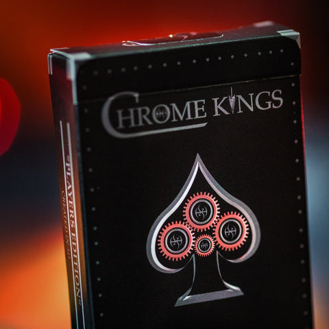 CHROME KINGS Playing Cards Deck Designed in 3D Players Edition by De'vo vom