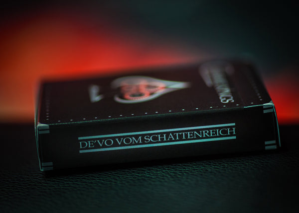 Chrome Kings Playing Cards by De'vo Black Gloss Wooden Box