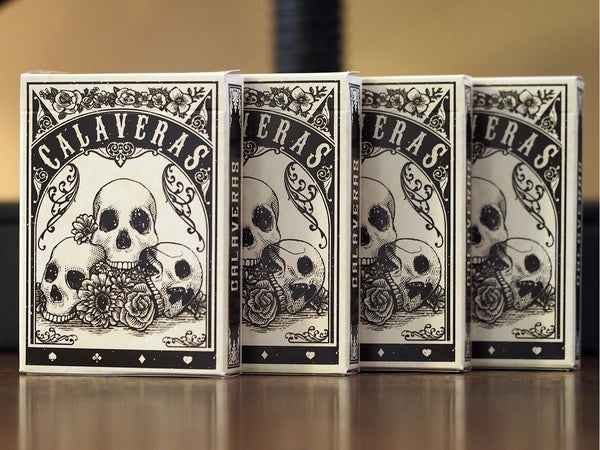 Calaveras Playing Cards Undead 2nd Edition by Dead on Paper