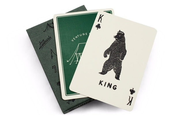 Camp Playing Cards Camping Ranger Edition by Art of Play