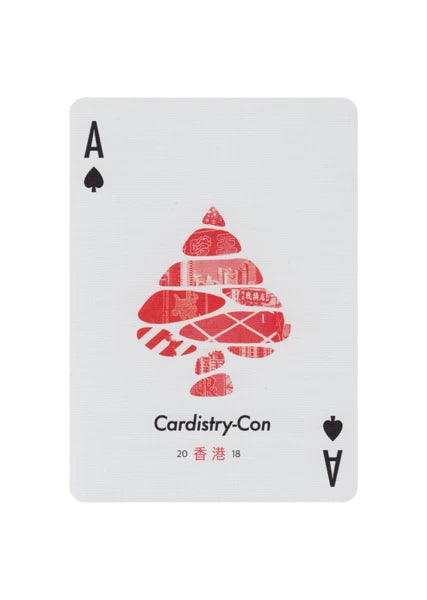 Cardistry Con 2018 Playing Cards inspired by Hong Kong Graphic Designs