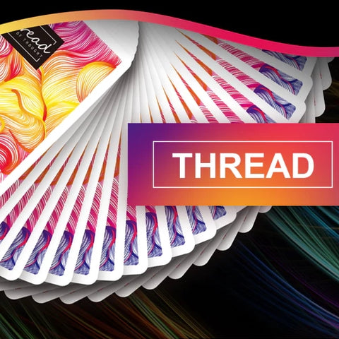 Thread Cardistry Playing Cards Colourful Deck by BOCOPO
