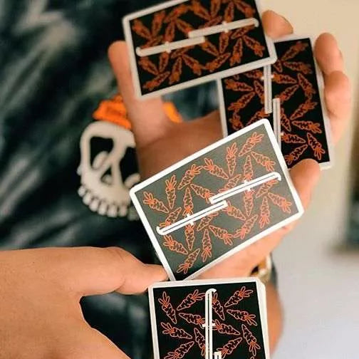 Fontaine Carrots V2 Edition Playing Cards Rare Orange Deck by Zach Mueller