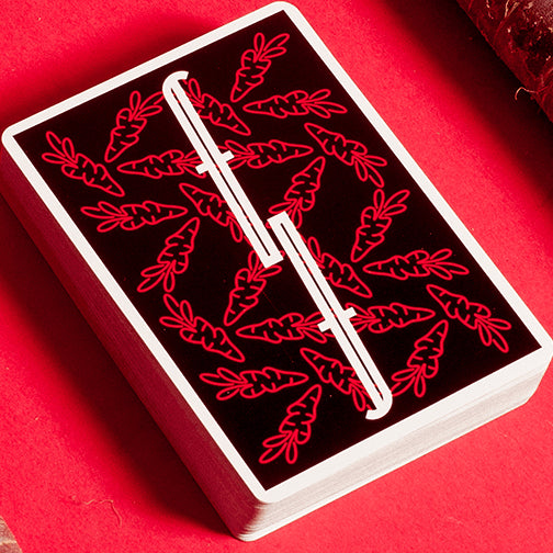 Fontaine Carrots V3 Edition Playing Cards Rare Red Deck by Zach Mueller