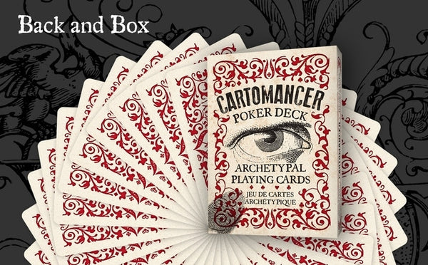 Cartomancer Playing Cards Archetypal Poker Deck + Free Booklet