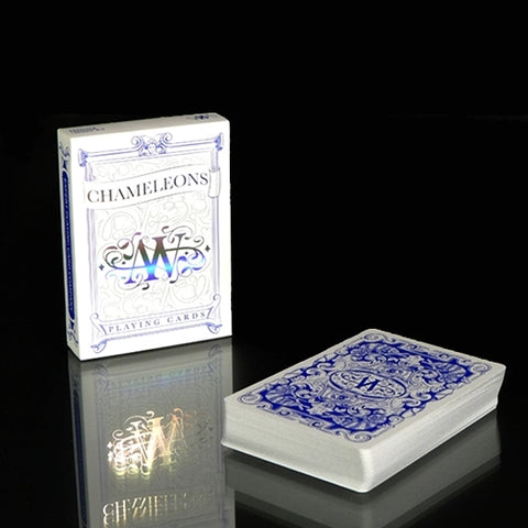 Chameleons Playing Cards Blue Edition Classic by EPCC