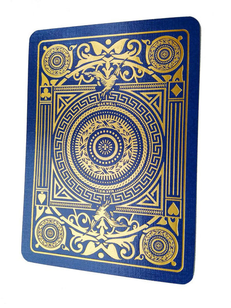 Charlemagne Playing Cards Luxury Swarovski Crystal Gold Foiled Deck