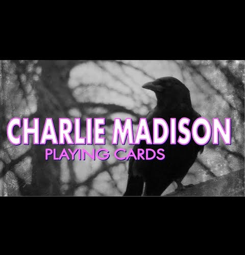 Charlie Madison Playing Cards Rare deck by Daniel Madison Magic is Dead