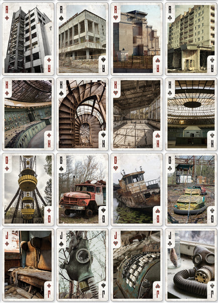 Chernobyl Memorial Playing Cards Rare Collectors Set 2 Decks