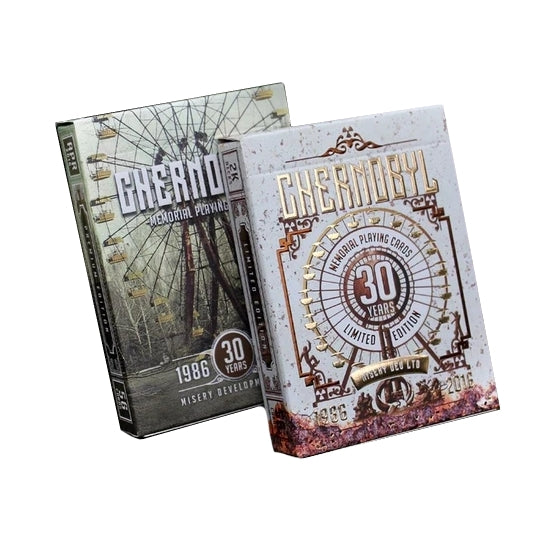 Chernobyl Memorial Playing Cards Rare Collectors Set 2-Decks