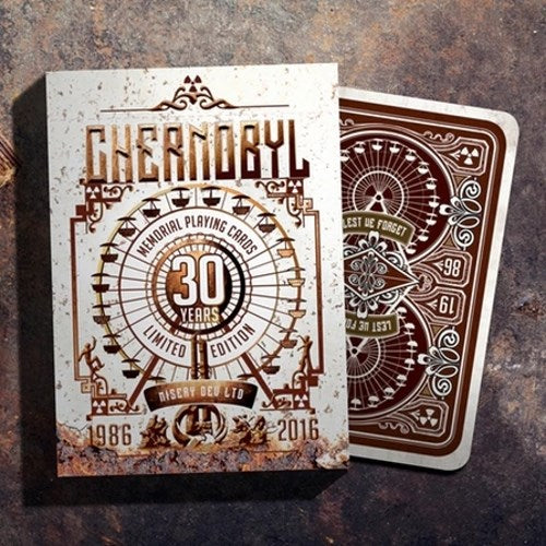 Chernobyl Memorial Playing Cards Rare Limited Edition Sealed Deck