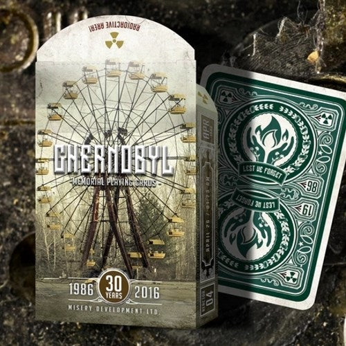 Chernobyl Memorial Playing Cards Rare Premium Edition
