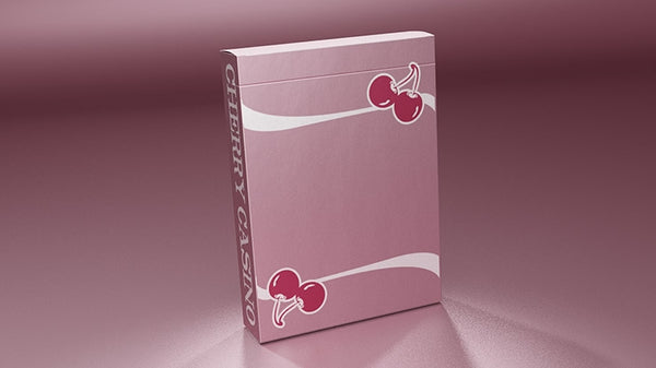 Cherry Casino Flamingo Quartz Pink Playing Cards by Pure Imagination Projects