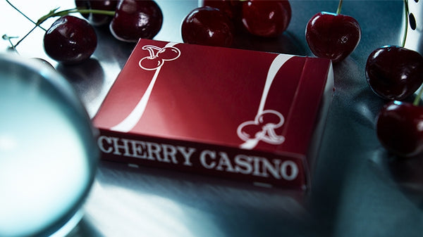 Cherry Casino Playing Cards Reno Red Edition Pearlescent finish