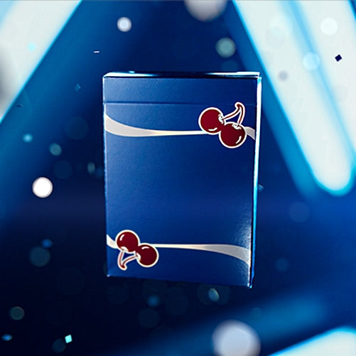 Cherry Casino Playing Cards Tahoe Blue Edition by Pure Imagination