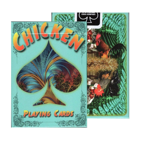 Chicken Playing Cards deck by artist Susan Krupp