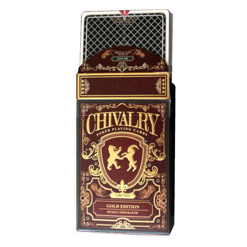 Chivalry Playing Cards Gold Edition Edition Medieval Europe by Design Imperator