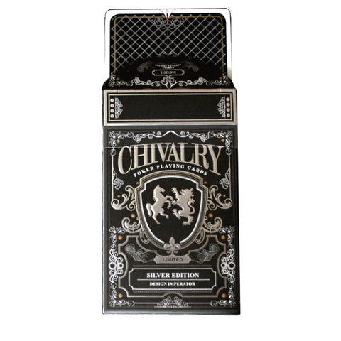 Chivalry Playing Cards Silver Edition Medieval Europe by Design Imperator