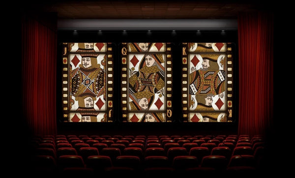 Buyworthy:Cinema Playing Cards Movie Theater Poker Magic Deck Brand New Made in USA