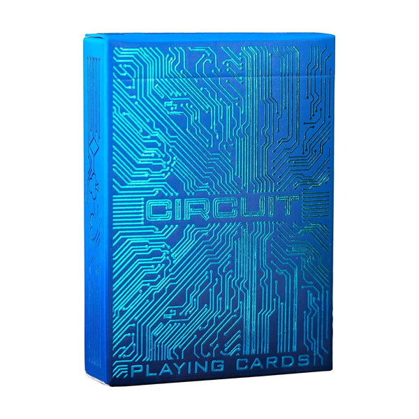 Circuit Blue Edition Playing Cards By EPC Digital Age Deck