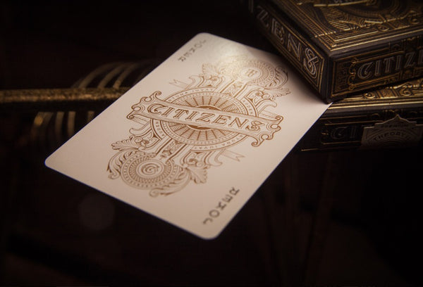 Citizens Playing Cards Theory11 Gold Foil Embossed Box