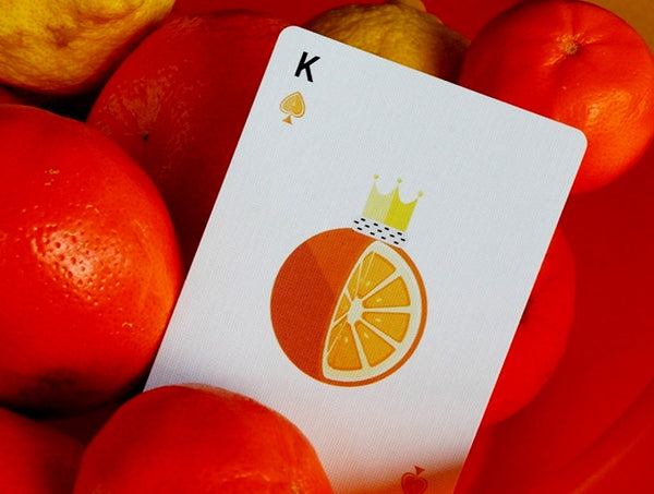 Citrus Playing Cards by Flaminko 4th Deliciousness Series deck