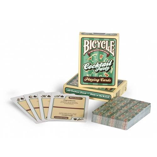 Cocktail Party Playing Cards deck ~ 54 drink recipes included