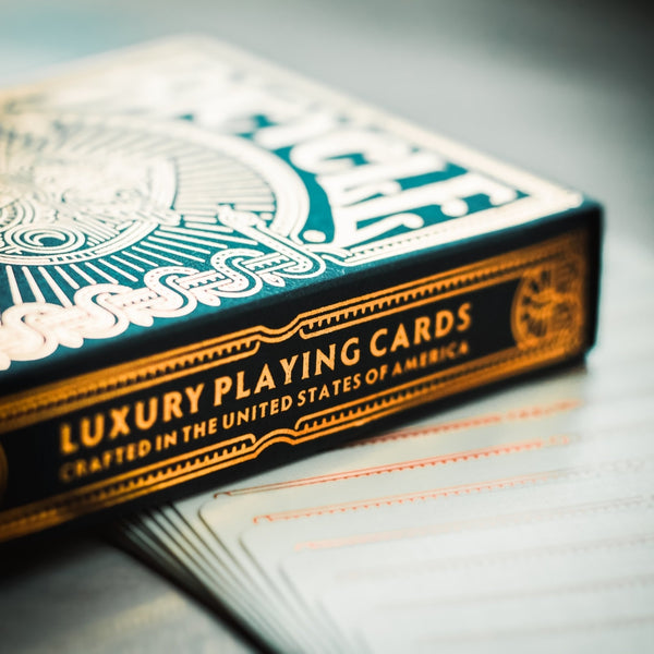 Codex Gold Playing Cards Luxury Deck by Elite