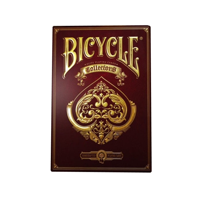 Collectors Elite Playing Cards Gold Luxury Embossed Case Deck