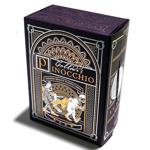 Collodi's Pinocchio Playing Cards Rare Limited Edition 2-Deck Box