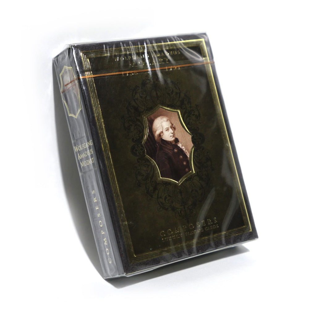 Composers Playing Cards Wolfgang Amadeus Mozart Edition 2 of 7