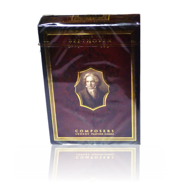 Composers Playing Cards Ludwig Van Beethoven Edition designed in Italy