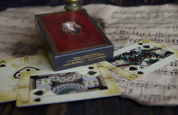 Composers Playing Cards L.V. Beethoven Rare Luxury Boxed Edition