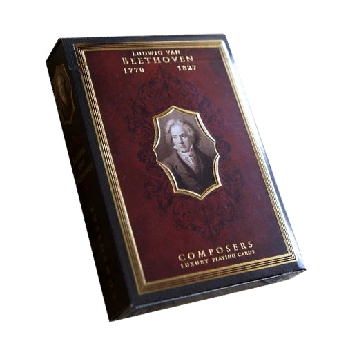 Composers Playing Cards Beethoven Edition Luxury Wooden Boxset No. 9