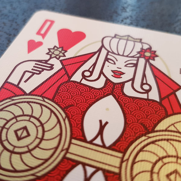 Conquerors Playing Cards Audax Edition by Thirdway Industries Italy