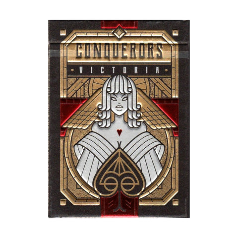 Conquerors Playing Cards Victoria Limited Edition by Thirdway Industries Italy