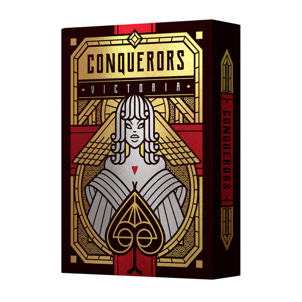 Conquerors Playing Cards Victoria Limited Edition Number Sealed #619 of 777