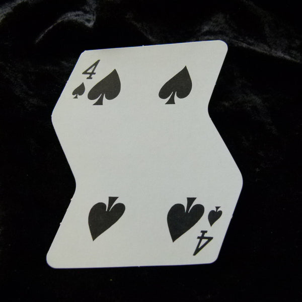 Crooked Deck Playing Cards Vintage Rare by Freed Novelty 1969