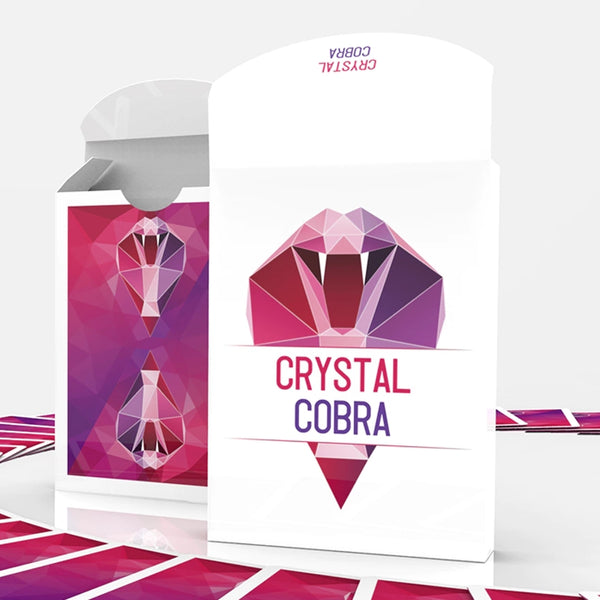 Crystal Cobra Playing Cards Snake Deck by 52Pixel