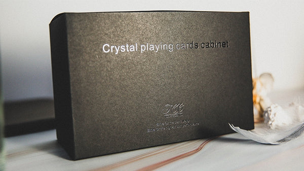 Playing Card Crystal Cabinet Premium Accessory by TCC Holds 15 Decks