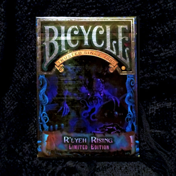Cthulhu R'LYEH RISING Playing Cards Limited Edition Fantasy Deck